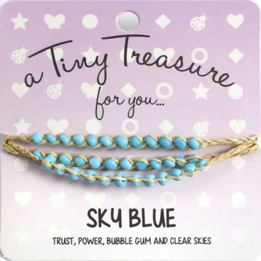 Tiny Treasure armband - Sky Blue