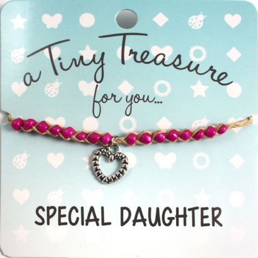 Tiny Treasure armband - Special Daughter