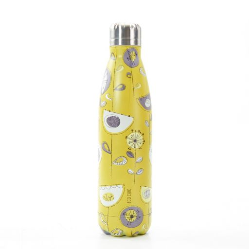 Eco Chic - The Bottle Thermosfles - T01 - 1950's Floral