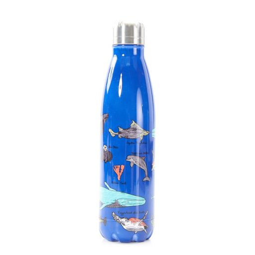 Eco Chic - The Bottle Thermosfles - T06 - Endangered Sea Creatures