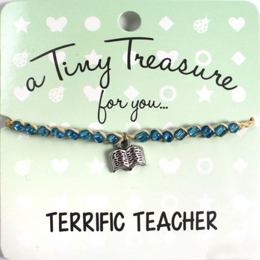 Tiny Treasure armband - Terrific Teacher
