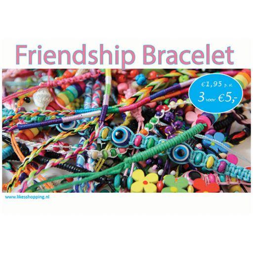 H019 - Topkaart Vriendschapsbandjes
