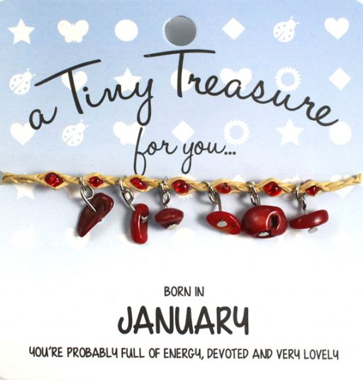 Tiny Treasure armband januari