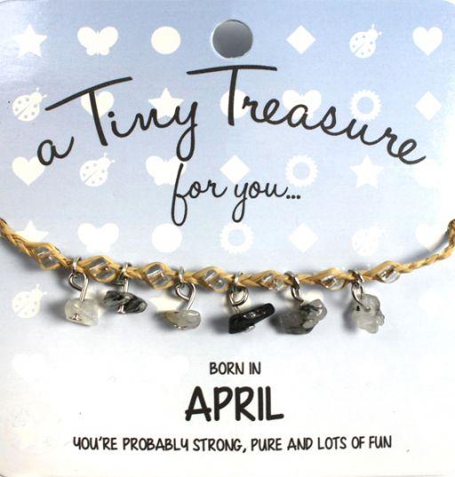Tiny Treasure armband april