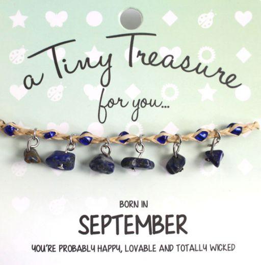 Tiny Treasure armband september