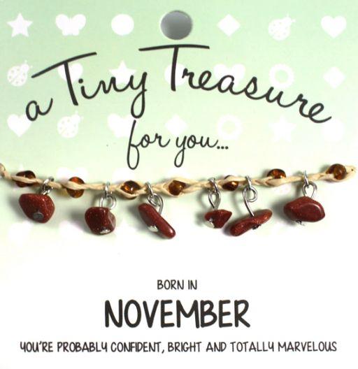 Tiny Treasure armband november