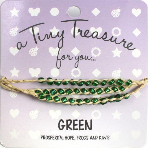 Tiny Treasure armband - Green