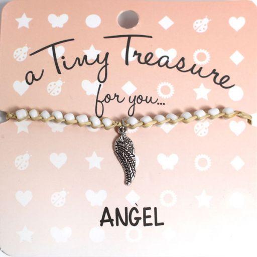 Tiny Treasure armband - Angel