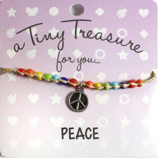 Tiny Treasure armband - Peace