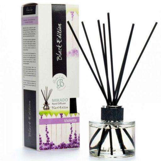 Boles d'olor Black Edition geurstokjes  - Violetta