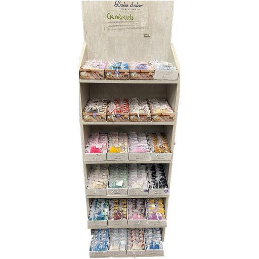 Display gevuld - Boles d'olor - Geurkorrels - 24 x 18 stuks