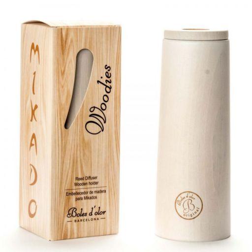Boles d'olor Woodies geurstokjeshouder - Wit