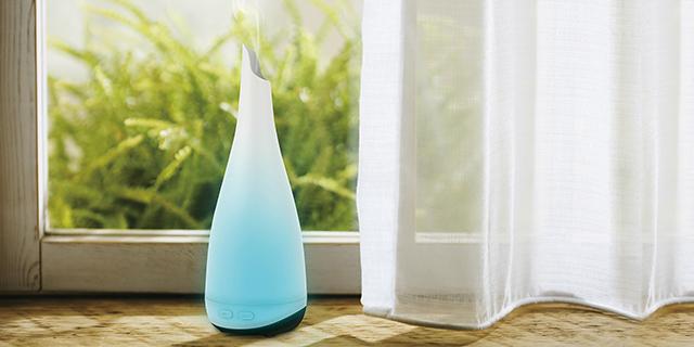 Hoe werkt een Aroma Diffuser (mini luchtbevochtiger)